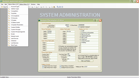 System Administration Module
